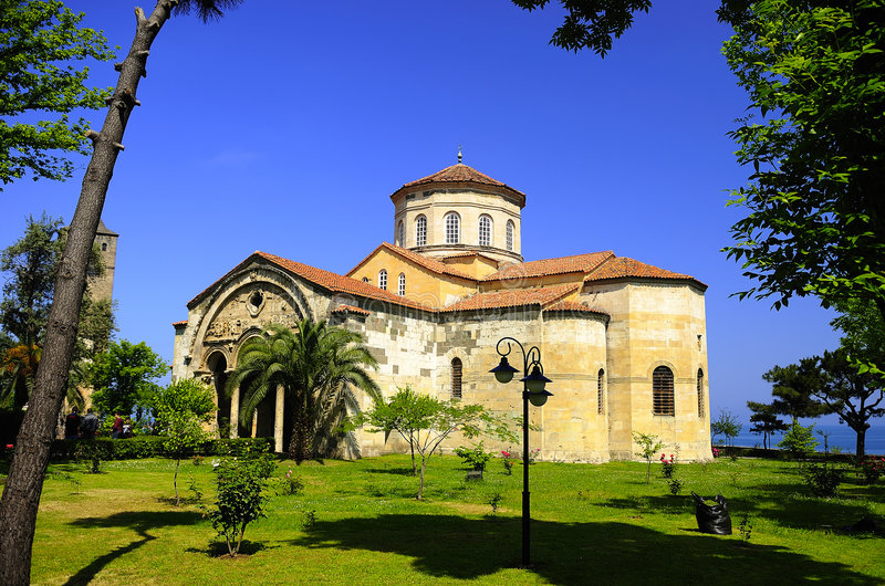 muzeum ayasofya Trabzon obrazy stock
