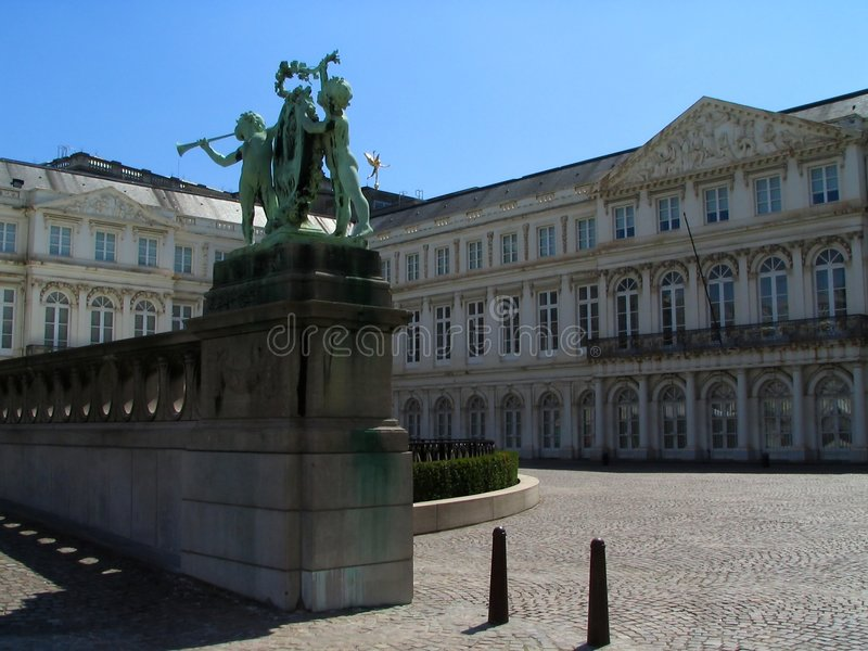 muzeum brukseli square obrazy stock