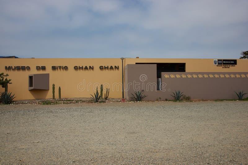 Muzeum Chan Chan zdjęcie stock