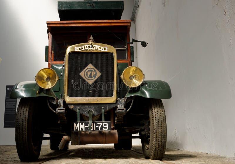 Muzeum elektryczny samochód w Porto obrazy stock