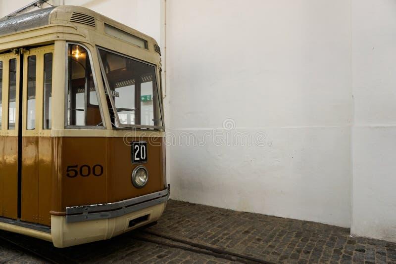 Muzeum elektryczny samochód w Porto obraz stock