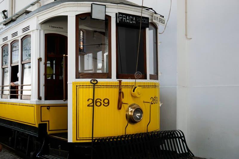 Muzeum elektryczny samochód w Porto obraz royalty free