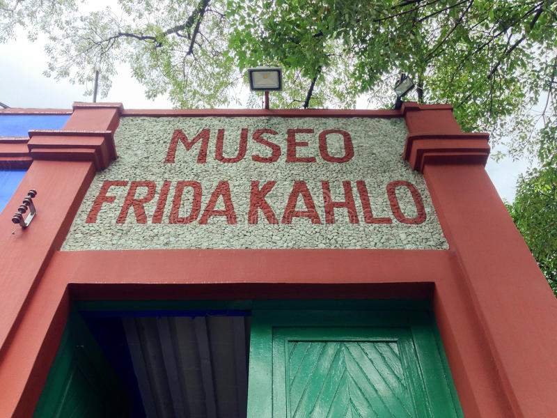 Muzeum Frida Kahlo zdjęcia stock