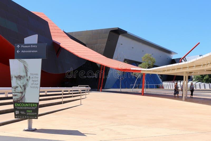muzeum krajowych australii obraz royalty free