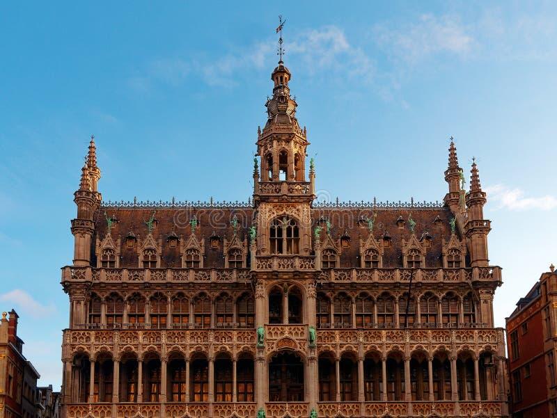 Muzeum miasta Bruxelles Belgia - widok zewnętrzny zdjęcia royalty free