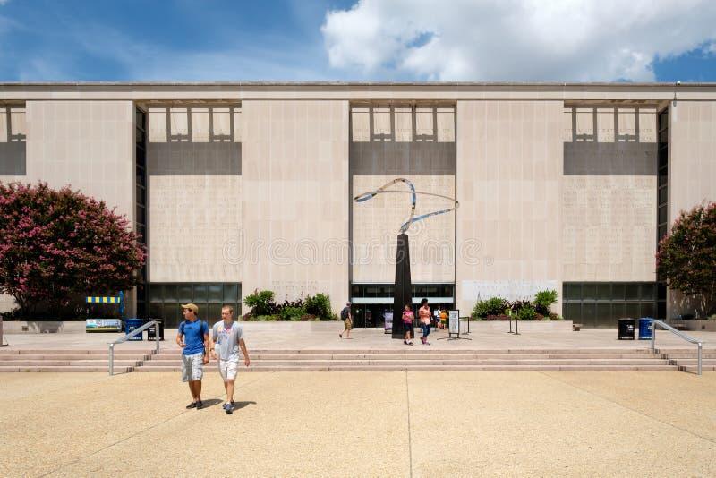 Muzeum Narodowe Amerykańska historia w Waszyngtońskim d C fotografia royalty free