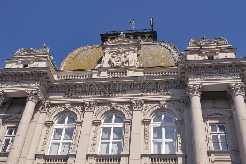 Muzeum Narodowe w Lviv, Ukraina zdjęcia stock