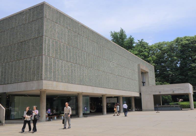 Muzeum Narodowe Zachodnia sztuka Tokio Japonia obrazy stock