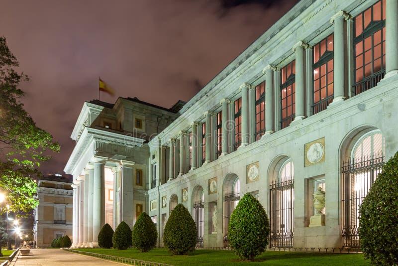 Muzeum Prado obraz stock