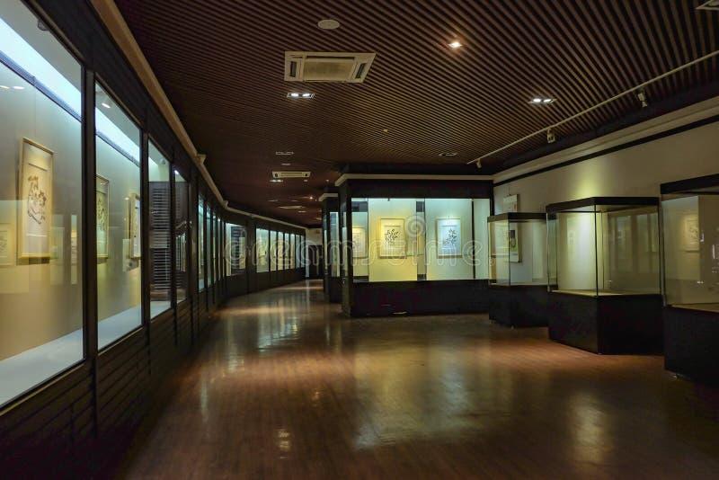 Muzeum przy «Ancestralną świątynią «w Foshan miasta porcelanie fotografia stock