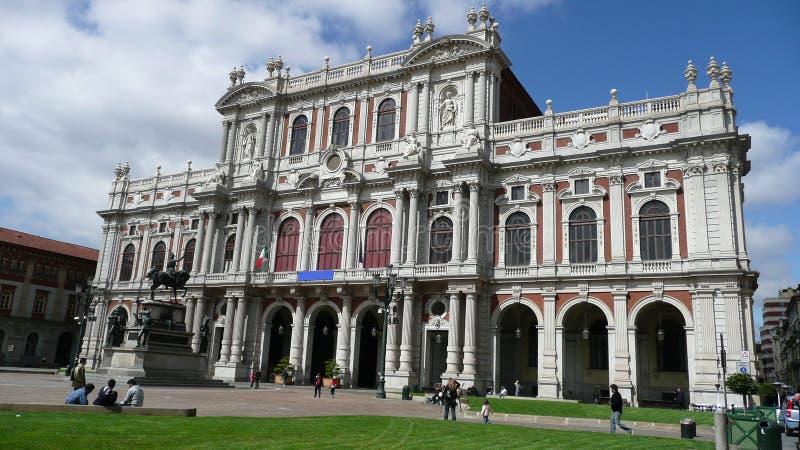 muzeum risorgimento Turin obrazy stock