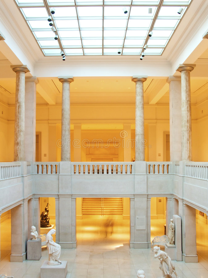 muzeum sztuki obrazy royalty free