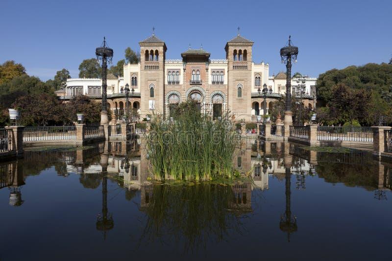 Muzeum Sztuki i Kostium w Seville, Spai zdjęcie stock