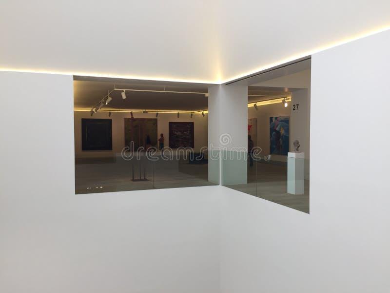 Muzeum sztuki piękne w Oviedo Asturias Hiszpania fotografia stock