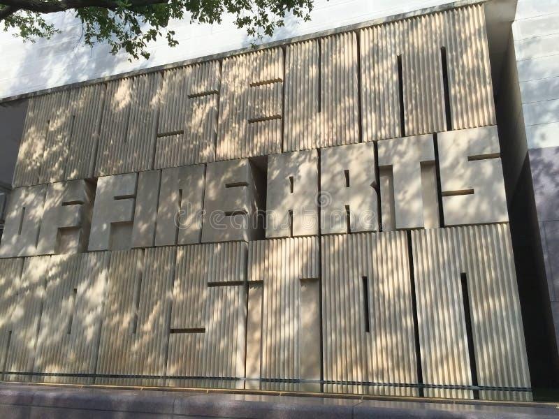 Muzeum sztuki piękna Houston obrazy royalty free