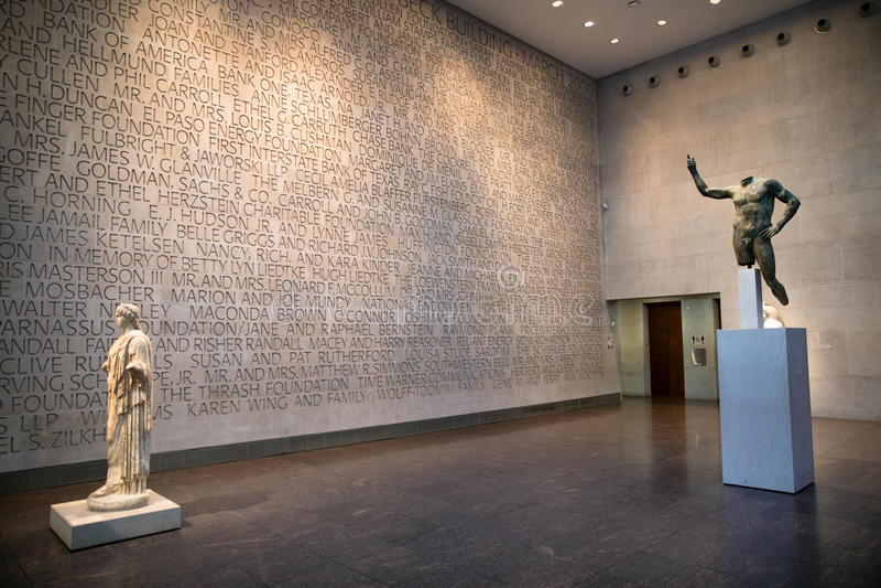 Muzeum sztuki piękna, Houston, Teksas obraz royalty free