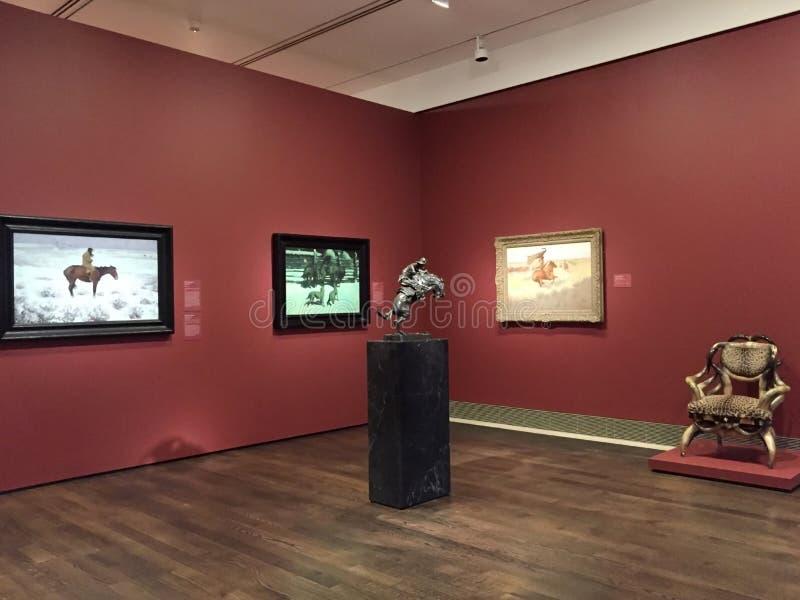 Muzeum sztuki piękna Houston wnętrze obraz stock