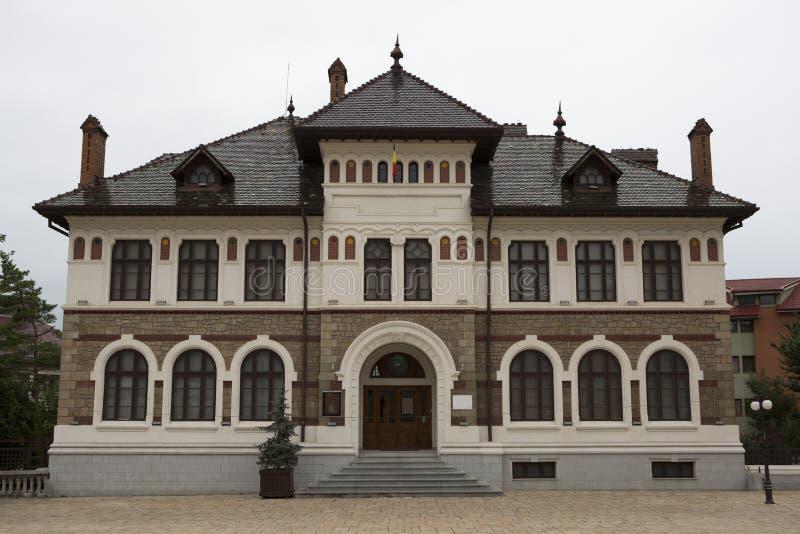 Muzeum Sztuki Targ Neamt, Rumunia - zdjęcie royalty free