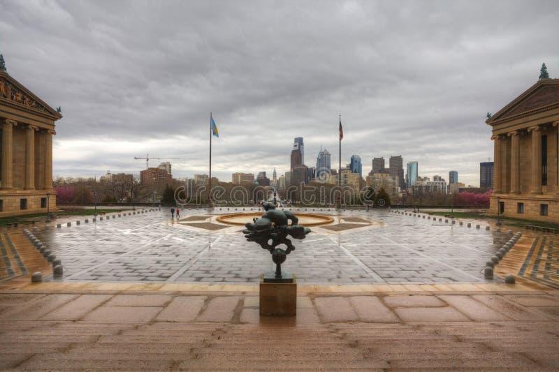 Muzeum sztuki w Filadelfia, Pennsylwania fotografia royalty free