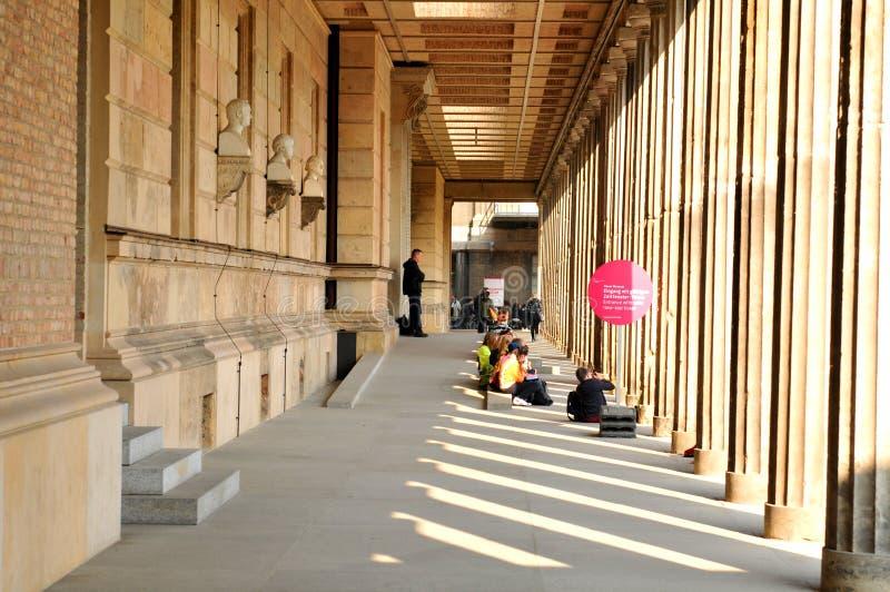 Muzeum w Berlin, Niemcy fotografia royalty free