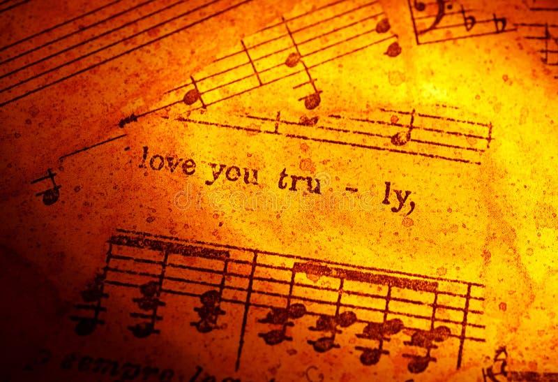 Muziek royalty-vrije stock afbeelding