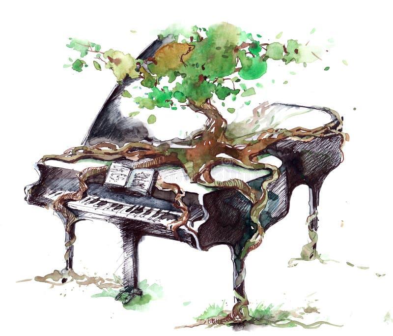 Muziek vector illustratie