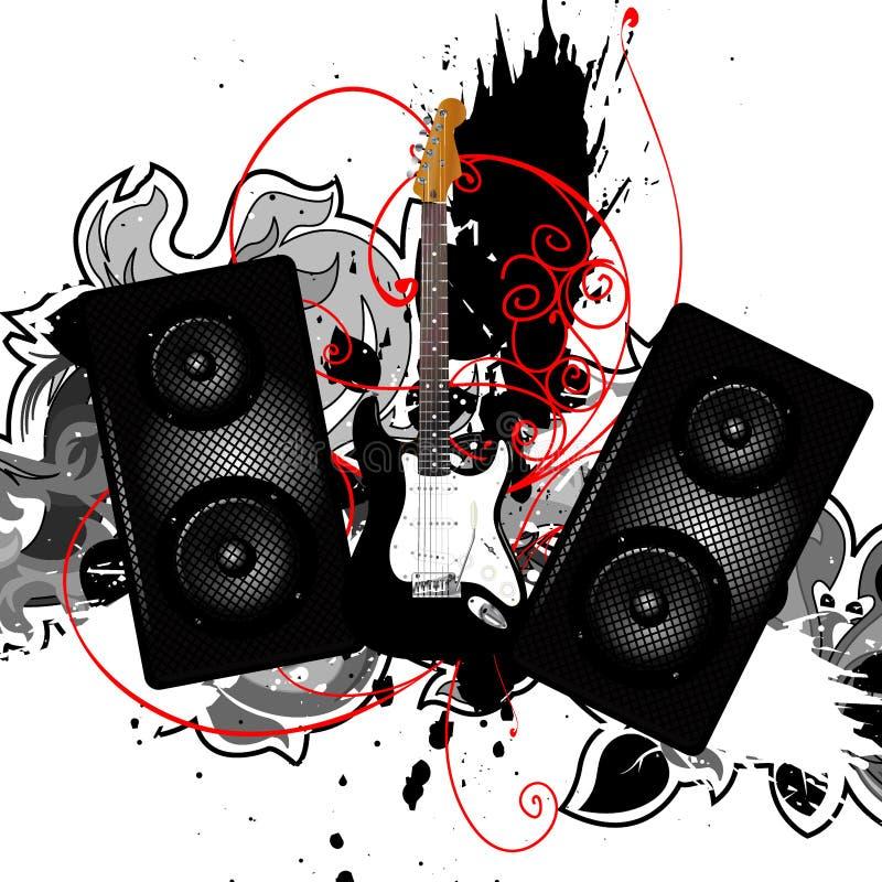Muziek stock illustratie