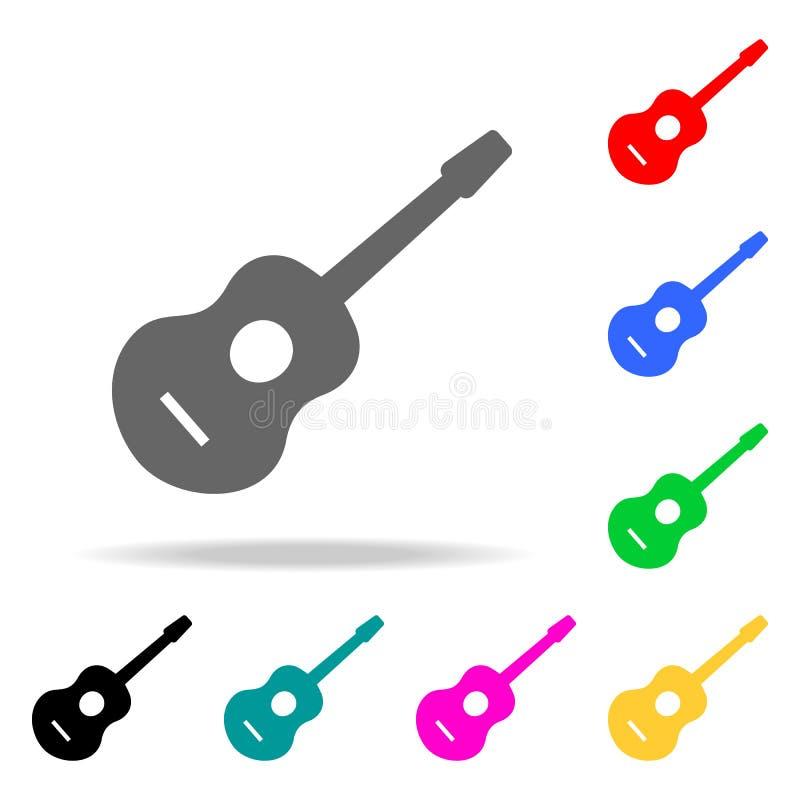 Muziek backgrond Elementen van partij multi gekleurde pictogrammen Grafisch het ontwerppictogram van de premiekwaliteit Eenvoudig royalty-vrije illustratie