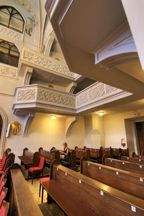 Muziek chapelle in hofburg royalty-vrije stock afbeelding