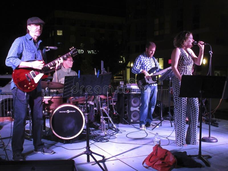 Muziek in de Nacht stock fotografie