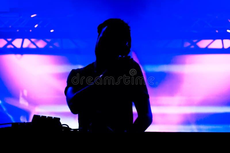 Muziek Deejay stock foto