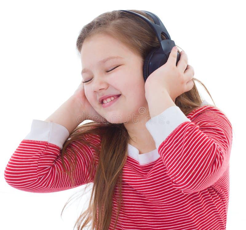 Muziek, elektronika, kind en de jeugd stock afbeelding