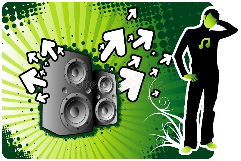 Muziek Expo vector illustratie
