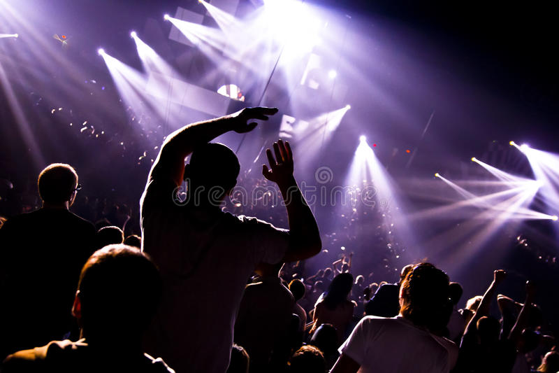 Muziek fest royalty-vrije stock foto