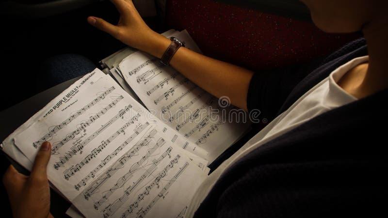 Muziek Prodigy stock foto