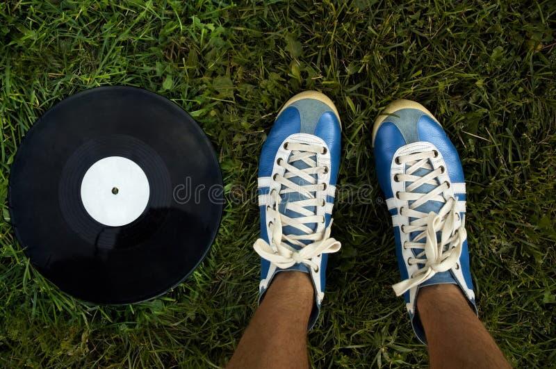 Muziek van de zomer royalty-vrije stock foto