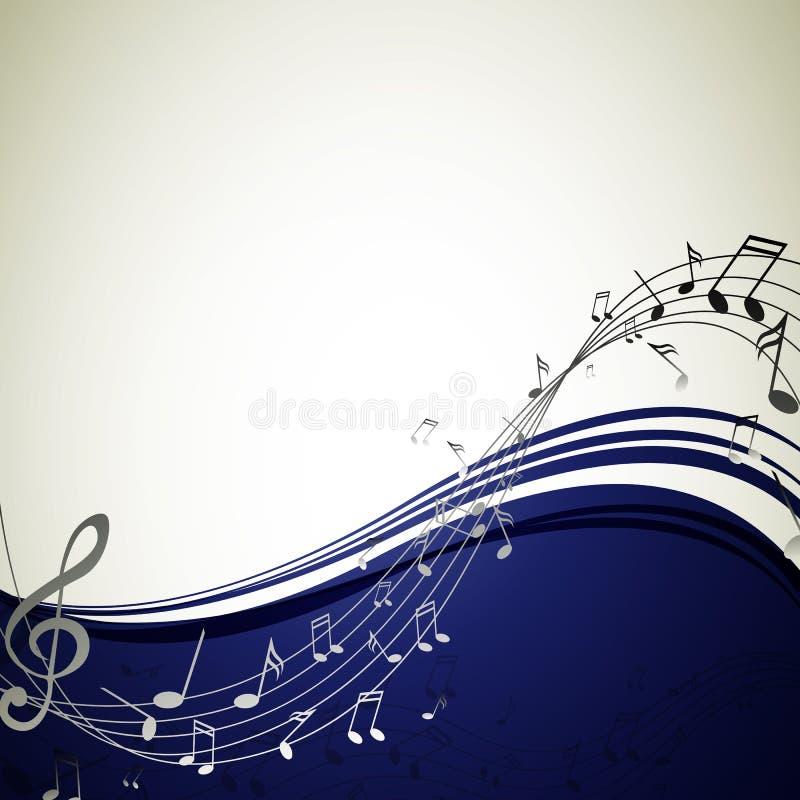 Muziekaffiche stock illustratie