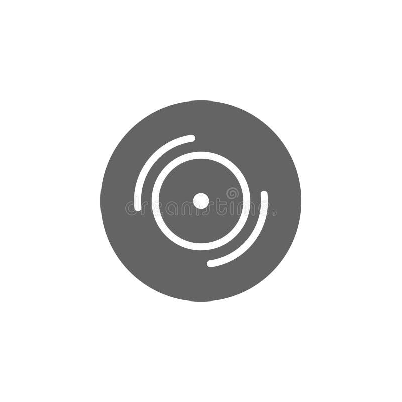 Muziekfestival, album, opgenomen, track icon Pictogram voor muziekfestival Premium - pictogram voor grafisch ontwerp van hoge kwa royalty-vrije illustratie