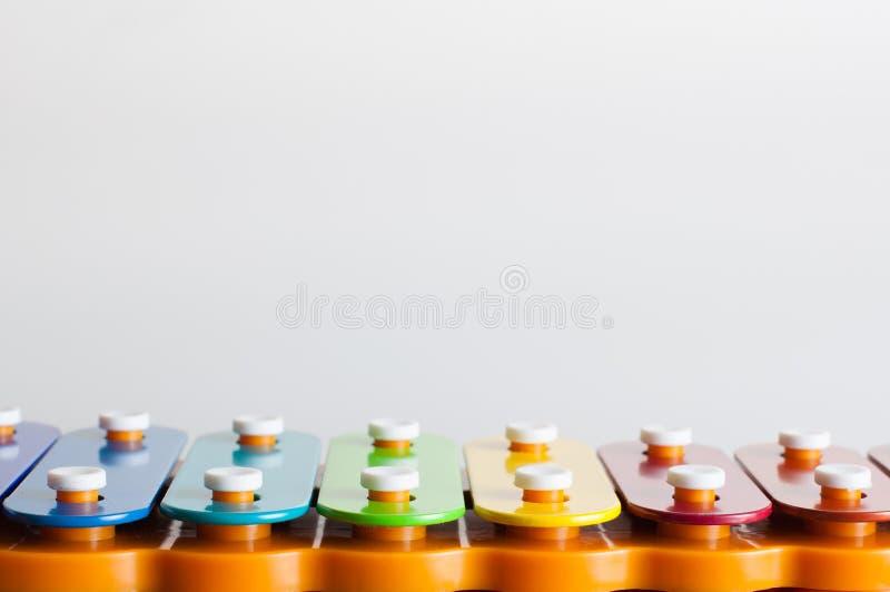 Muzikaal stuk speelgoed stock fotografie