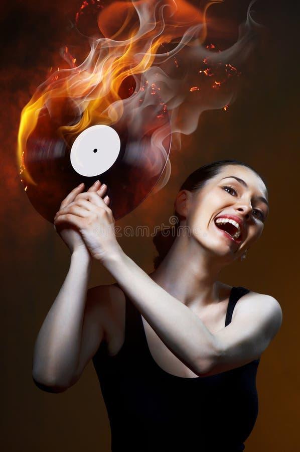 Muzikaal verslag stock afbeeldingen