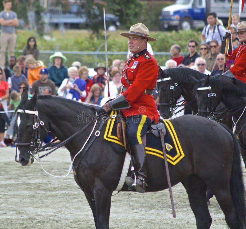 Muzikale de Ritbevelhebber van RCMP royalty-vrije stock fotografie