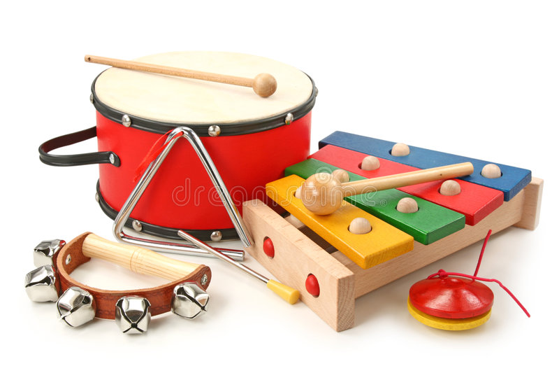 Muzikale instrumenten royalty-vrije stock foto