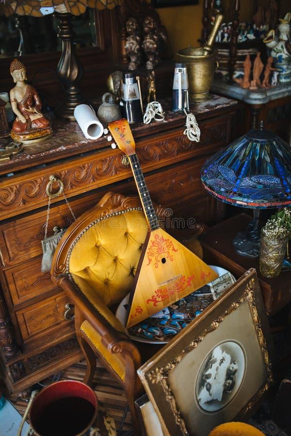 Muzikale instrumentenbalalaika royalty-vrije stock afbeeldingen