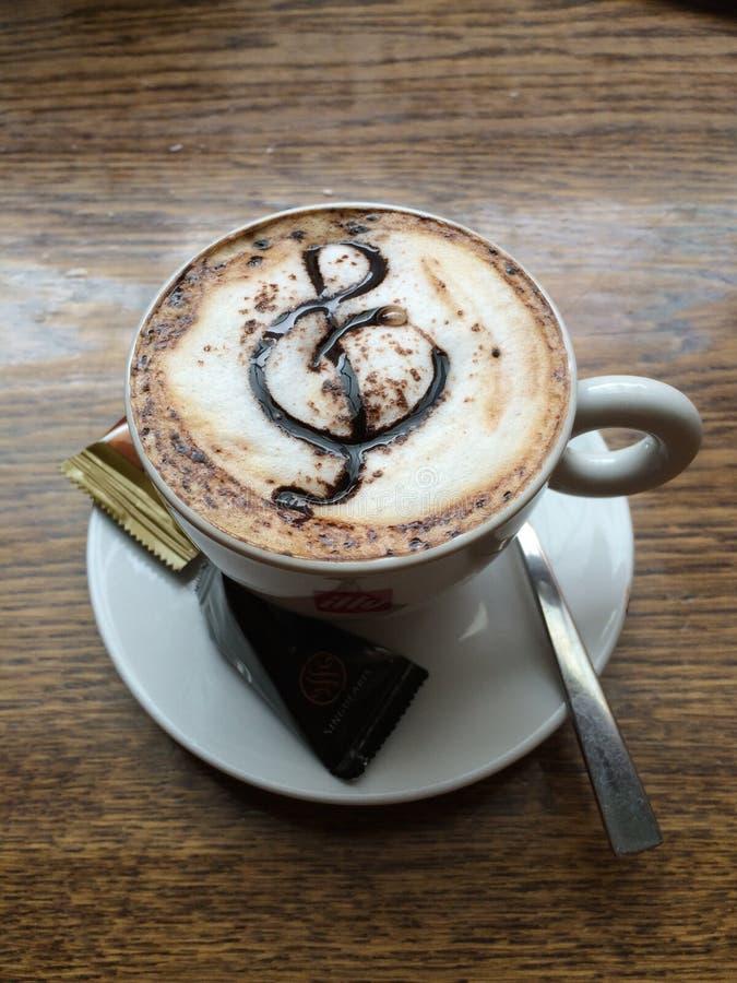 Muzikale Koffie stock foto's