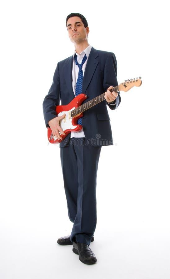 Muzikale mens royalty-vrije stock afbeeldingen