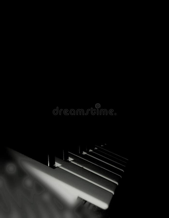 Muzikale toetsenborden royalty-vrije stock afbeeldingen