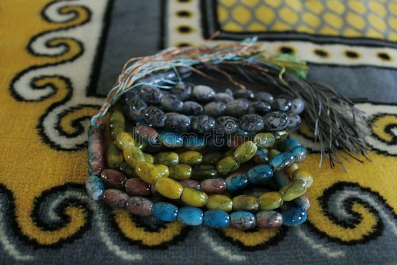 Muzułmańscy koraliki zdjęcia stock