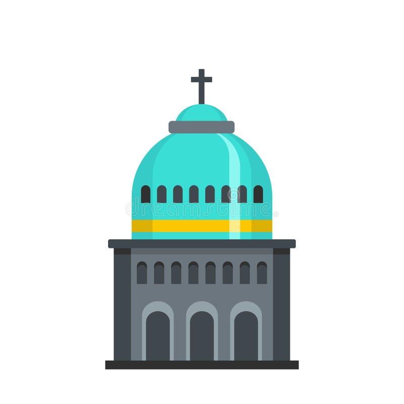Muzułmańska kościelna ikona, mieszkanie styl royalty ilustracja