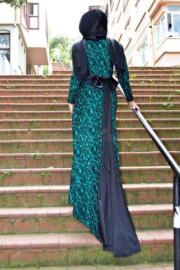 Muzułmańska młoda kobieta zdjęcie royalty free