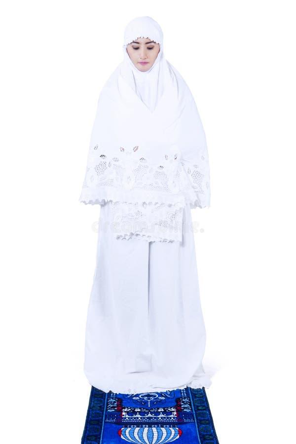 Muzułmański Kobiety Modlenie Obraz Stock